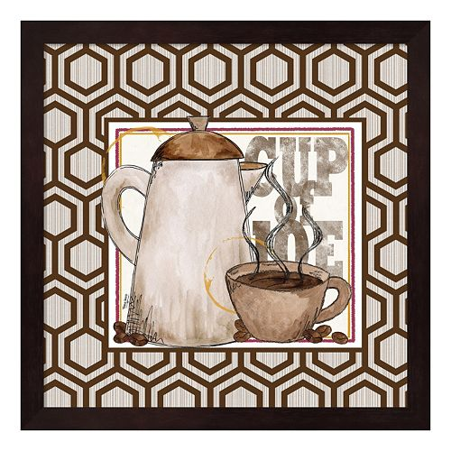 Metaverse Art Modern Coffee I Framed Wall Art