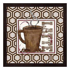 Metaverse Art Modern Coffee II Framed Wall Art