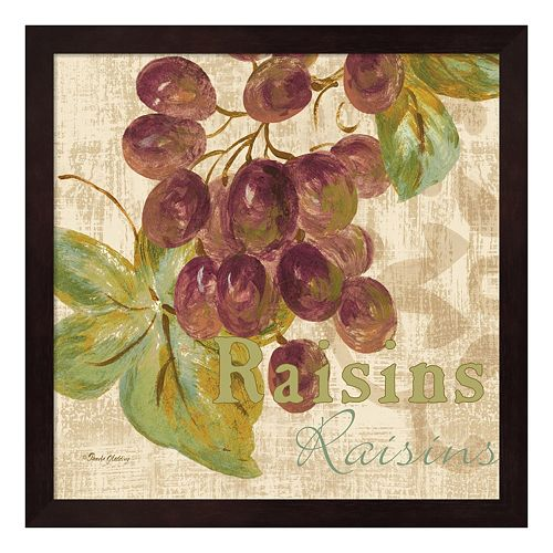Metaverse Art Rustic Fruit II Framed Wall Art