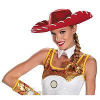 Disney / Pixar Toy Story Adult Jessie Glam Hat & Hair Bow Costume Set