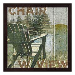 Metaverse Art Open Season Viewing Framed Wall Art