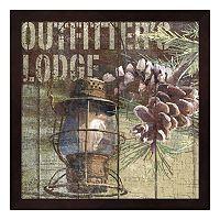 Metaverse Art Open Season Outfitter Framed Wall Art