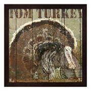 Metaverse Art Open Season Turkey Framed Wall Art