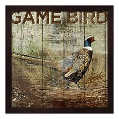 Metaverse Art Open Season Pheasant Framed Wall Art