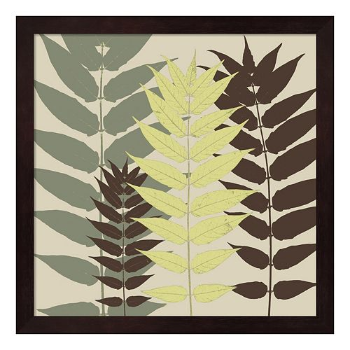 Metaverse Art Garden Botanical Framed Wall Art