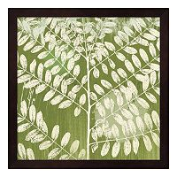 Metaverse Art Jade Foliage Framed Wall Art