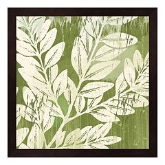 Metaverse Art Sage Foliage Framed Wall Art
