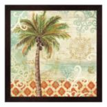 Metaverse Art Spice Palms I Framed Wall Art