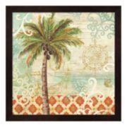 Metaverse Art Spice Palms I Framed Wall Art