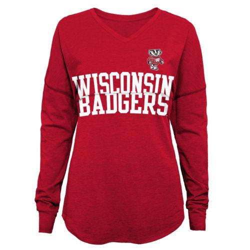 Juniors' Wisconsin Badgers Split Tee