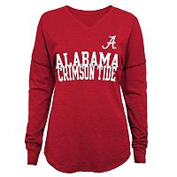 Juniors' Alabama Crimson Tide Split Tee
