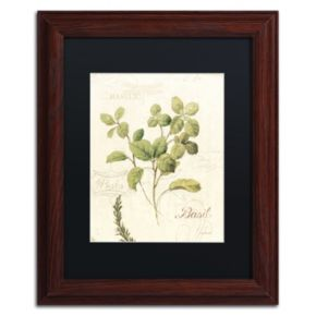 Trademark Fine Art Aromantique III Wood Finish Framed Wall Art
