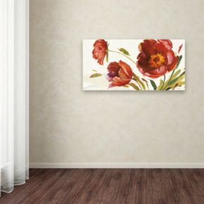 Trademark Fine Art In the Wind Canvas Wall Art