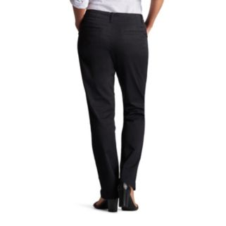 Petite Lee Essential Straight-Leg Chino Pants