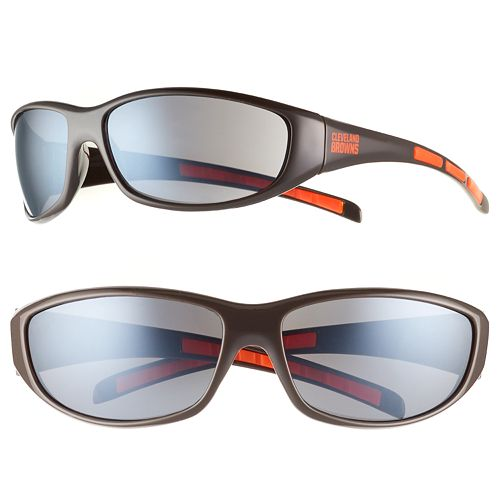 Adult Cleveland Browns Wrap Sunglasses