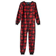 Boys Red Kids One-Piece Pajamas - Sleepwear, Clothing   Kohl's