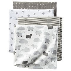 Baby Carter's 4 pkReceiving Blankets