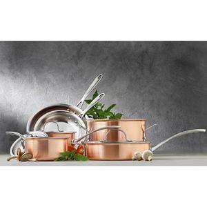 Calphalon Copper Tri-Ply 10-pc. Cookware Set