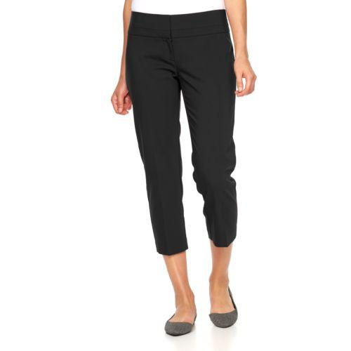 Women's Apt. 9® Torie Modern Fit Capri Dress Pants
