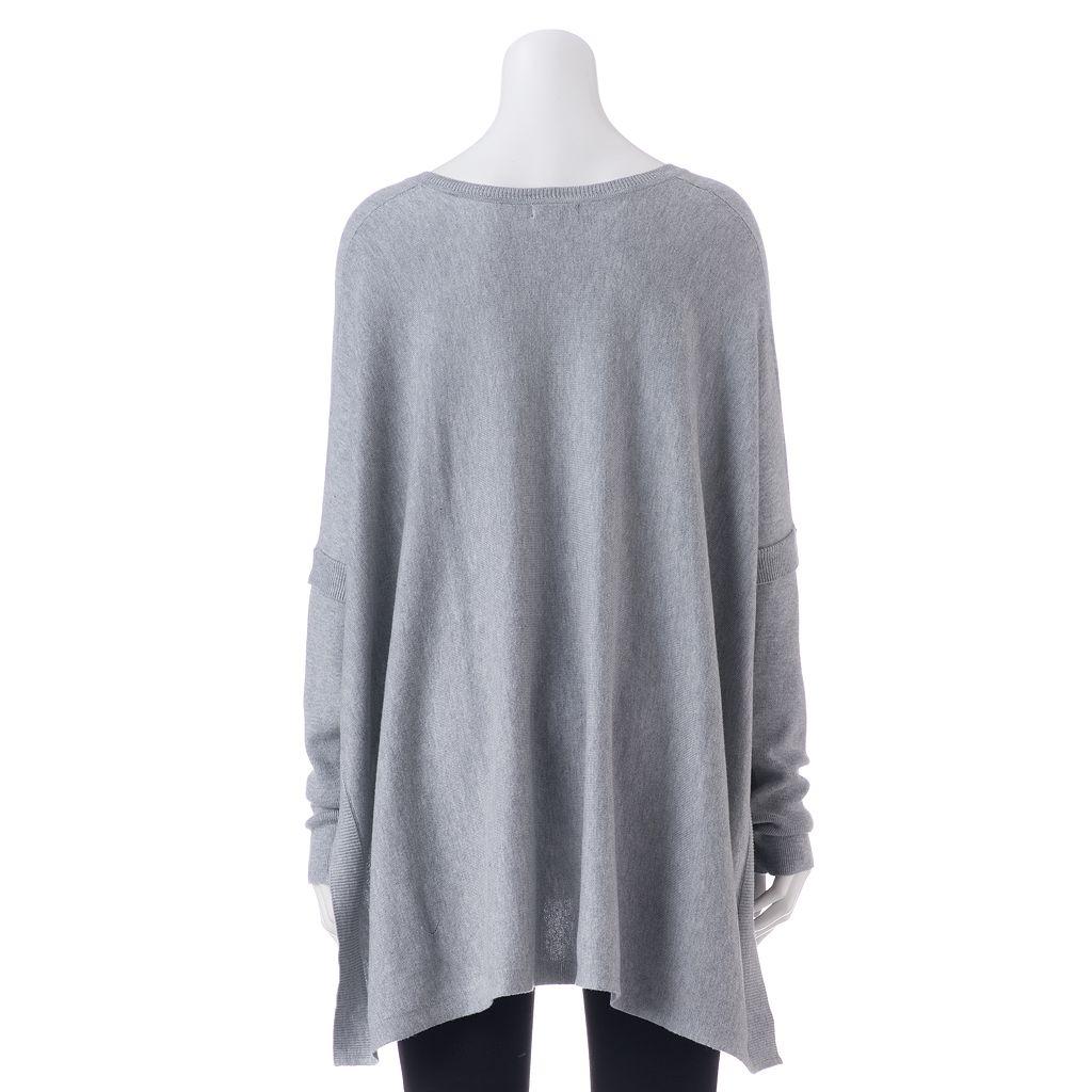 Women's Apt. 9® V-Neck Poncho Sweater