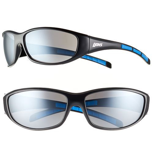 Adult Detroit Lions Wrap Sunglasses