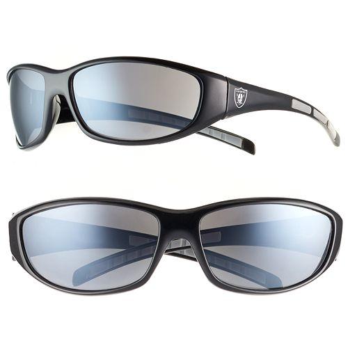 Adult Oakland Raiders Wrap Sunglasses