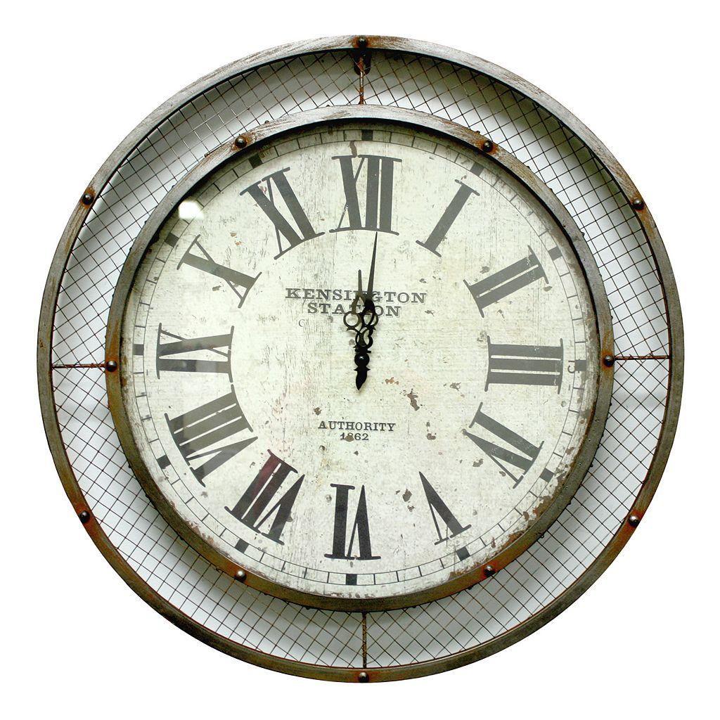 Fetco Home Decor Myers Wall Clock