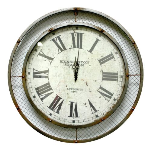 Fetco Home Decor Myers Wall Clock