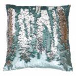 Thro by Marlo Lorenz Melody Mermaid Sequin Throw Pillow