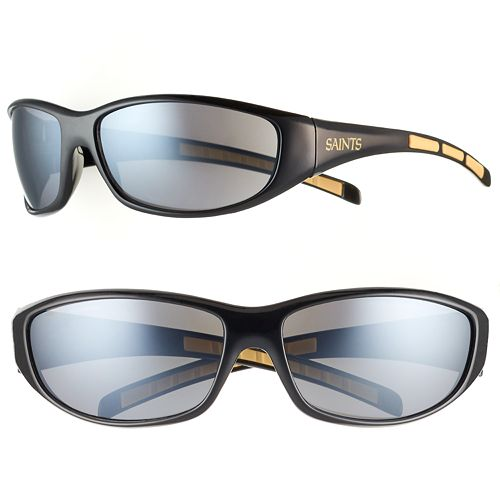 Adult New Orleans Saints Wrap Sunglasses