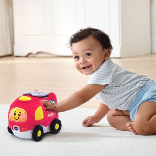 VTech Crawl and Cruise Plush Fire Truck