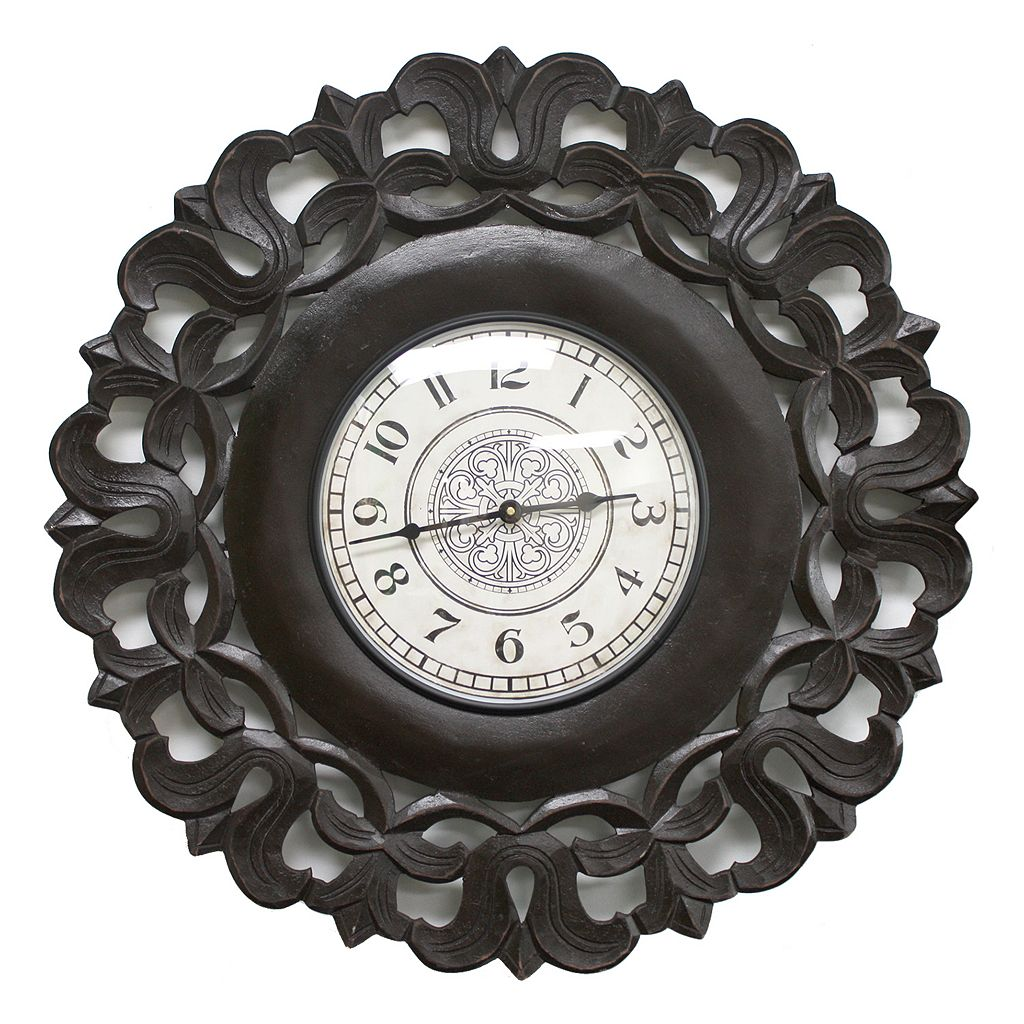 Fetco Home Decor Spada Wall Clock