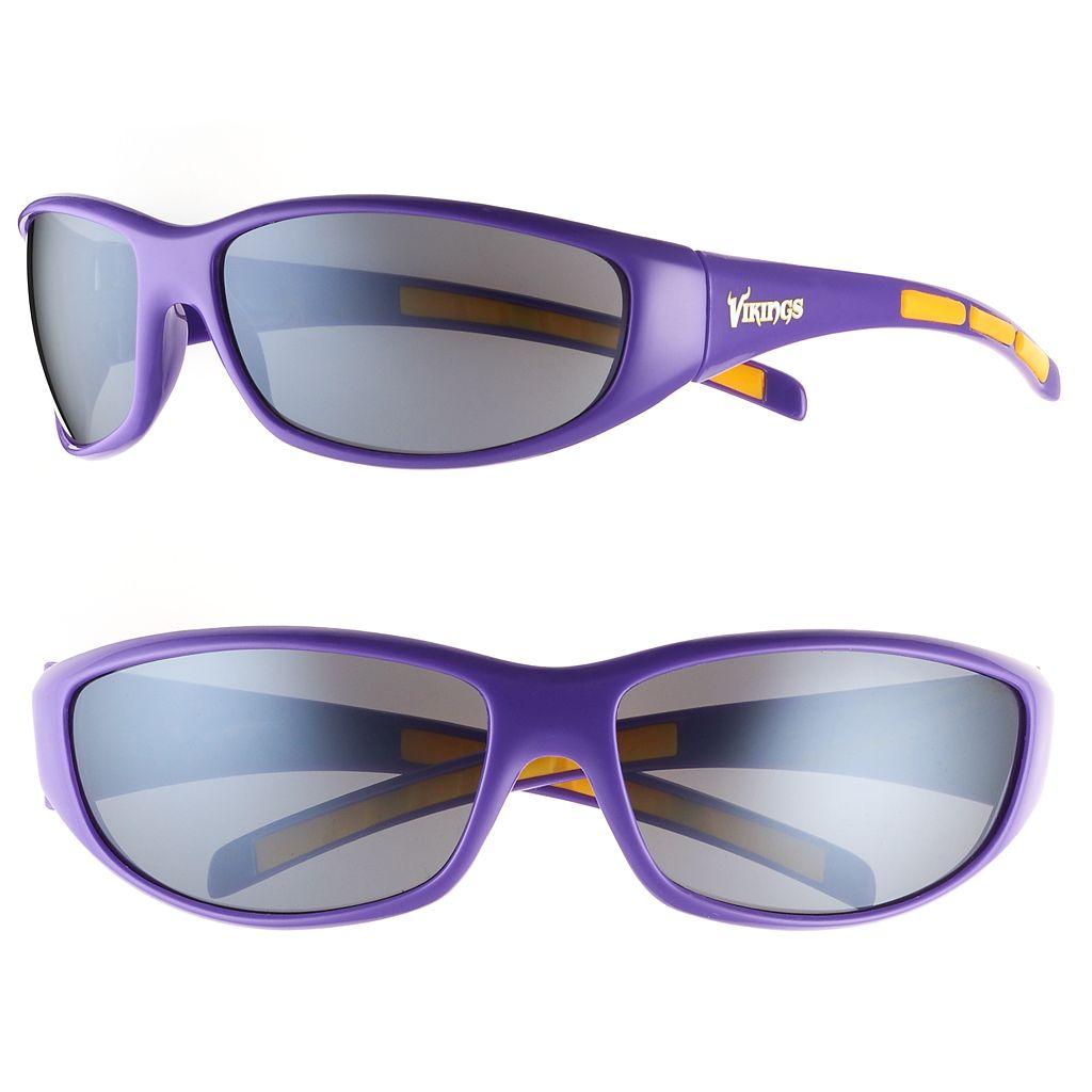 Adult Minnesota Vikings Wrap Sunglasses