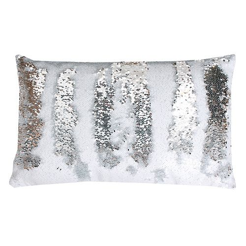 Thro by Marlo Lorenz Melody Mermaid Sequin Oblong Throw Pillow
