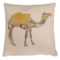 Thro by Marlo Lorenz Czer Camel Throw Pillow
