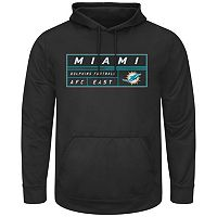 Men's Majestic Miami Dolphins Starting Strong Pullover Hoodie