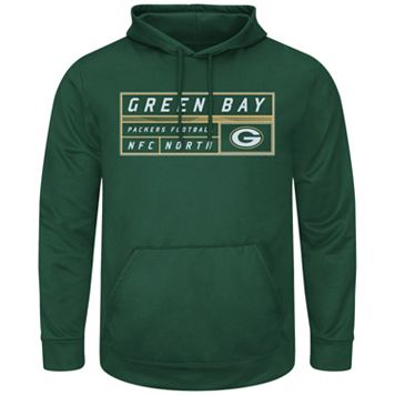 Men's Majestic Green Bay Packers Starting Strong Pullover Hoodie