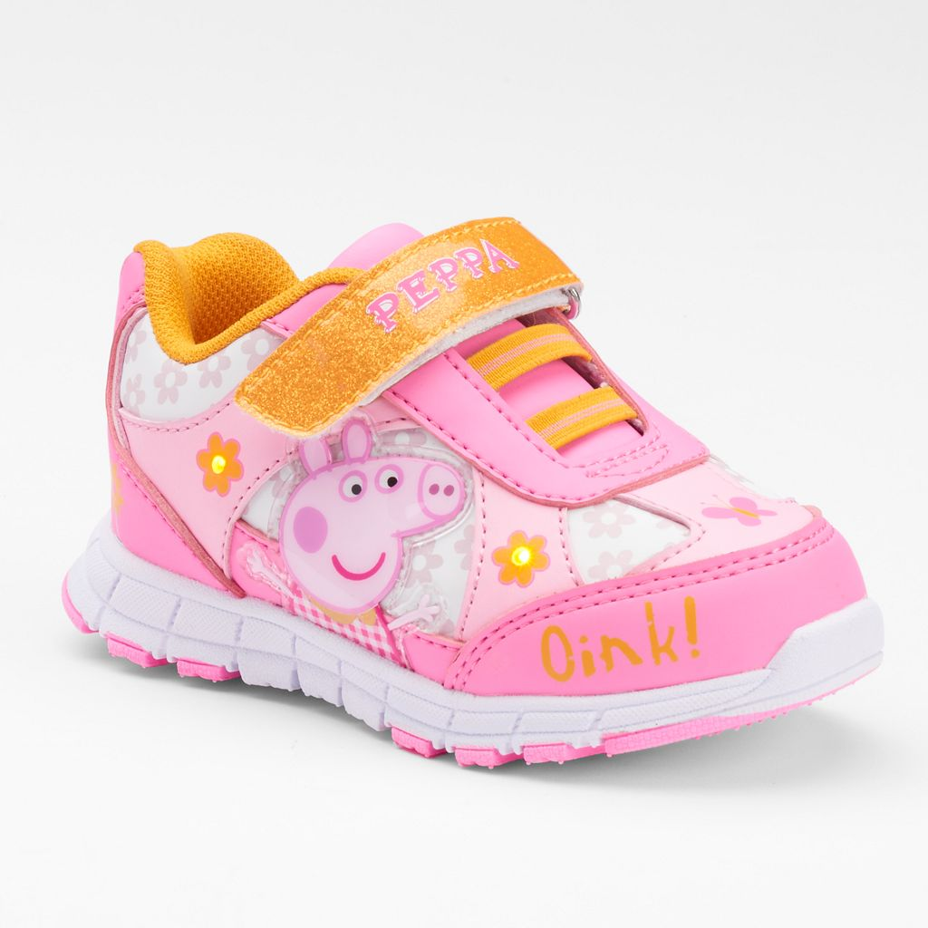 Peppa Pig Toddler Girls' Light-Up Shoes