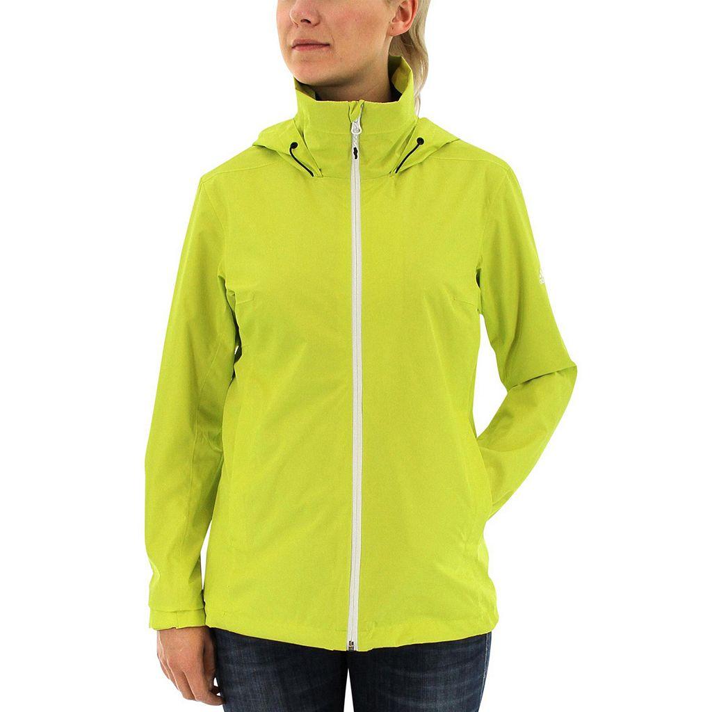 Women's Adidas Outdoor Waterproof Wandertag Rain Jacket