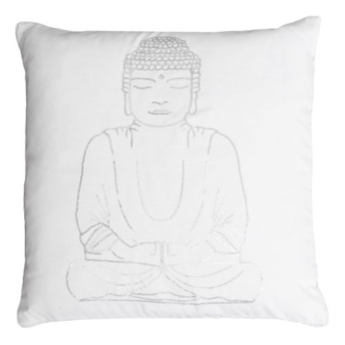 Thro by Marlo Lorenz Buddha Sequin Throw Pillow