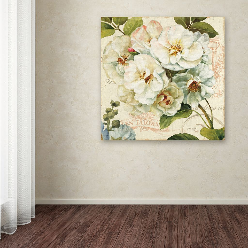 Trademark Fine Art Les Jardin III Canvas Wall Art