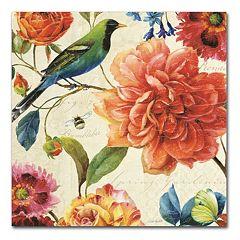 Trademark Fine Art Rainbow Garden II Canvas Wall Art