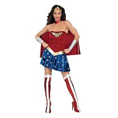 Adult DC Comics Wonder Woman Deluxe Costume