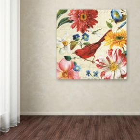 Trademark Fine Art Rainbow Garden III Canvas Wall Art