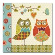Trademark Fine Art Owl Wonderful I Canvas Wall Art