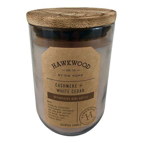Hawkwood 13.9-oz. Cashmere & White Cedar Wine Candle Jar
