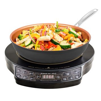As Seen on TV NuWave Precision Gold 2-pc. Induction Cooktop Set