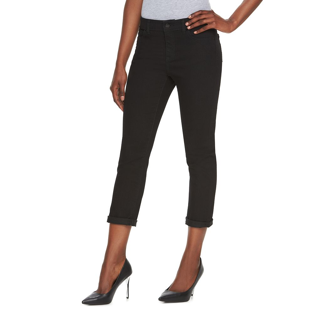 Women's Jennifer Lopez Roll Cuff Capri Jeans