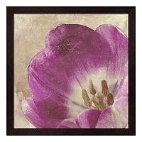 Metaverse Art Buttercream Tulip I Framed Wall Art