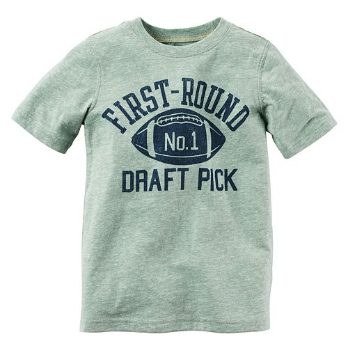 Boys 4-8 Carter's Short Sleeve Large Graphic Tee